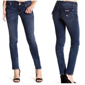 Hudson Collin Flap Skinny Dark Wash Jeans SZ 30